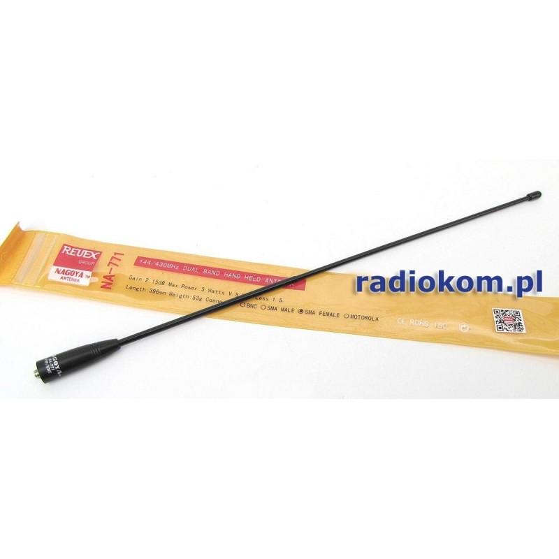NA-771 Nagoya SMA-F antena VHF/UHF